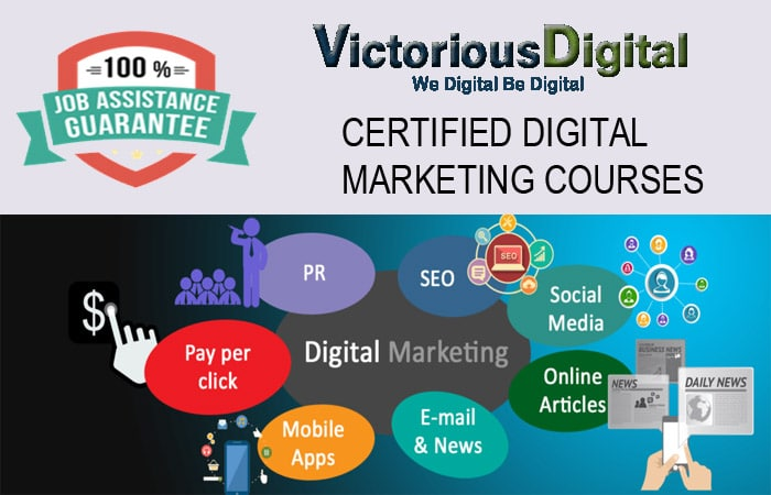 Digital Marketing Courses With 100% Placement Assistance