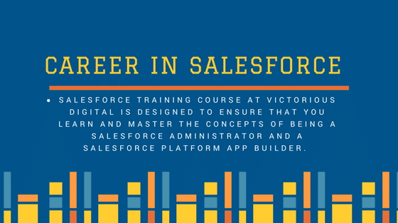 Career in Salesforce by Victorious digital