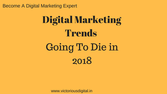 digital marketing trends - victorious digital